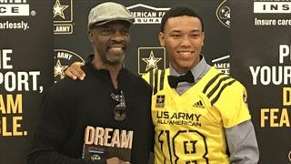 Army All-American WR St. Brown talks top schools