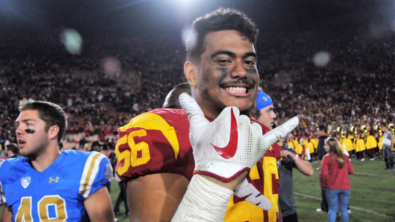 quality design 39ab6 8123d Patience and hard work paying off for LB Jordan Iosefa