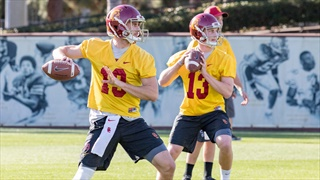 USC Notes, Observations & more from Spring Practice No. 4
