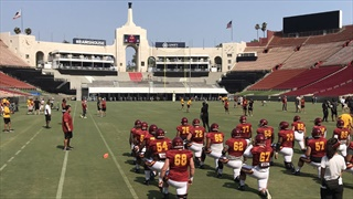 Sights, Sounds & Action: USC's Scrimmage at the Coliseum